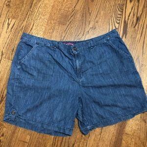 24W Jean Shorts